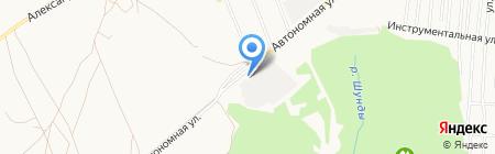 Стекло 18 на карте Ижевска