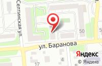 Схема проезда до компании Производственная Фирма  в Ижевске