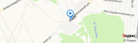 Прикампромстрой на карте Ижевска