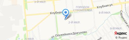 Детский сад №27 на карте Ижевска