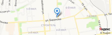 Лиана на карте Ижевска