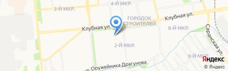 Гастрономчик на карте Ижевска