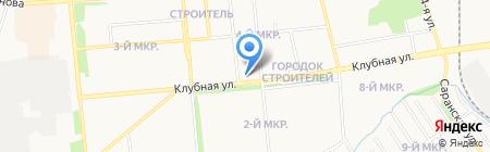 Гузель на карте Ижевска