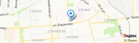 Север-строй на карте Ижевска
