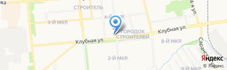 Аква на карте Ижевска