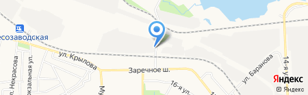 Дельта-Монолит на карте Ижевска