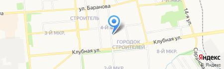 Зоренька на карте Ижевска