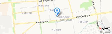 Полная чаша на карте Ижевска