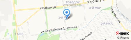 Общественная приемная депутата Городской думы г. Ижевска Зиннатуллина А.А. на карте Ижевска