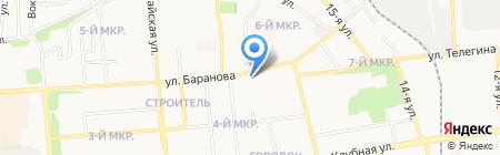 Аква торг на карте Ижевска