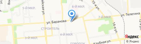 Обувь на карте Ижевска