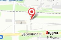 Схема проезда до компании Планета в Ижевске