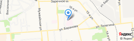Солимед на карте Ижевска