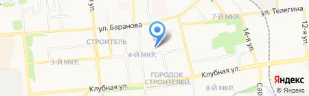 Отдел Военного комиссариата Удмуртской Республики по Первомайскому на карте Ижевска