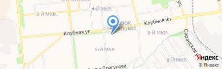 Прокуратура Ленинского района на карте Ижевска