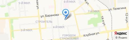 Следственный отдел по Ленинскому району на карте Ижевска