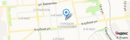 Центр-здоровья на карте Ижевска