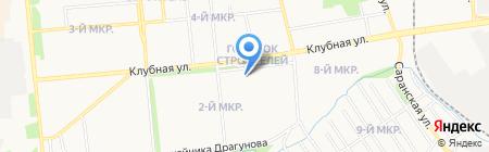Аленка на карте Ижевска