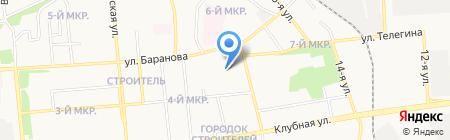 Камни плюс на карте Ижевска