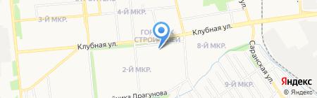 Корпорация Центр на карте Ижевска