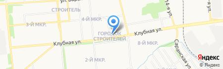 Лето Банк на карте Ижевска