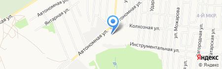 Профессиональное училище №23 на карте Ижевска