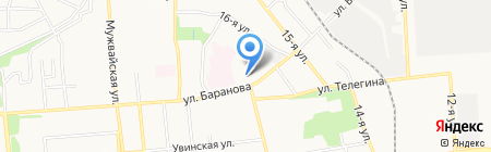 Детский сад №87 на карте Ижевска