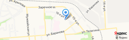 Детский сад №261 на карте Ижевска