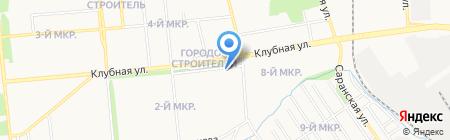 ЗАГС Ленинского района на карте Ижевска
