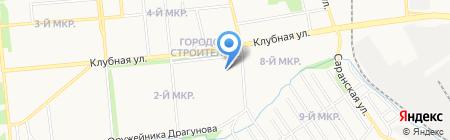 СтройКом на карте Ижевска