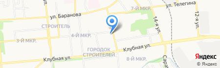 Банно-прачечный комбинат на карте Ижевска