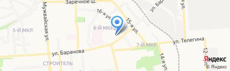 Специальная (коррекционная) общеобразовательная школа-интернат №4 VIII вида для обучающихся на карте Ижевска