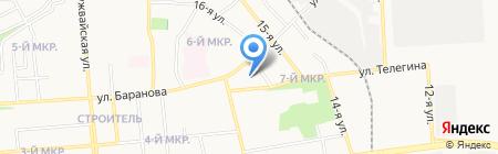 Детский сад №20 на карте Ижевска