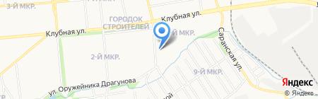 Пятачок на карте Ижевска