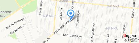 Гумар Авто на карте Ижевска