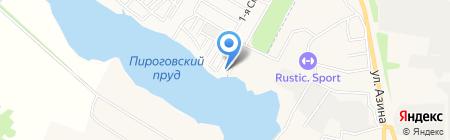 Тихие пруды на карте Ижевска