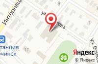 Схема проезда до компании Антураж в Сорочинске