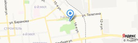 Успенский Собор на карте Ижевска