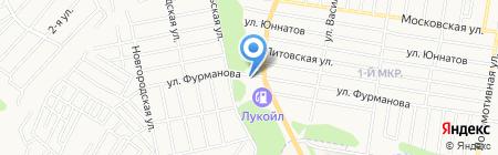 Булгар на карте Ижевска