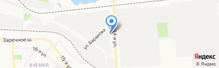 Катран на карте Ижевска