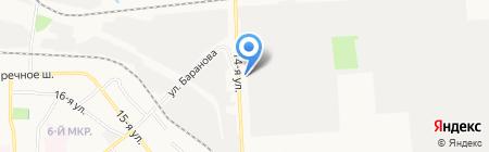 Берег надежды на карте Ижевска