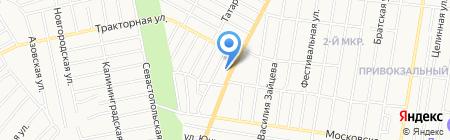 На Тракторной на карте Ижевска