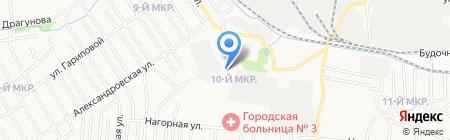Строй АЛЬЯНС на карте Ижевска