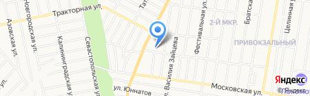 Средняя общеобразовательная школа №12 на карте Ижевска