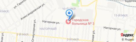 Поликлиника на карте Ижевска