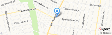 Птица на карте Ижевска
