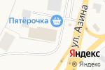 Схема проезда до компании ИжТеплоСтрой в Пирогово