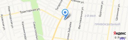 Почтовое отделение №23 на карте Ижевска