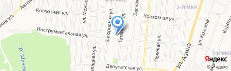 Валентина на карте Ижевска
