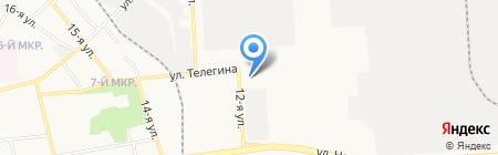 АГЗС на карте Ижевска